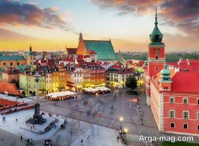 شهر های دیدنی در کشور لهستان
