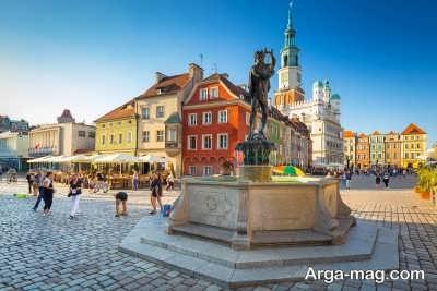 بازدید از پایتخت کشور لهستان