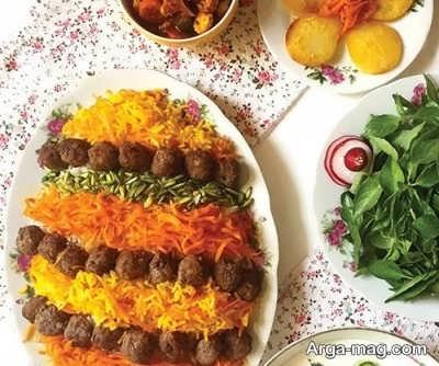 دستور تهیه هویج پلو شیرازی در منزل