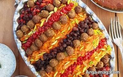 هویج پلوی شیرازی