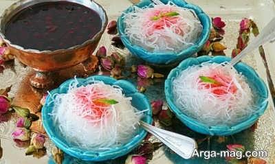 روش تهیه فالوده شیرازی