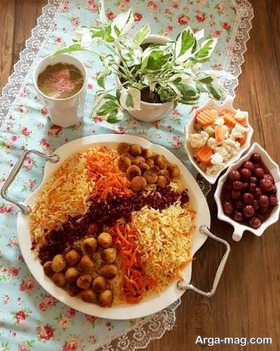 ست غذایی شیرازی