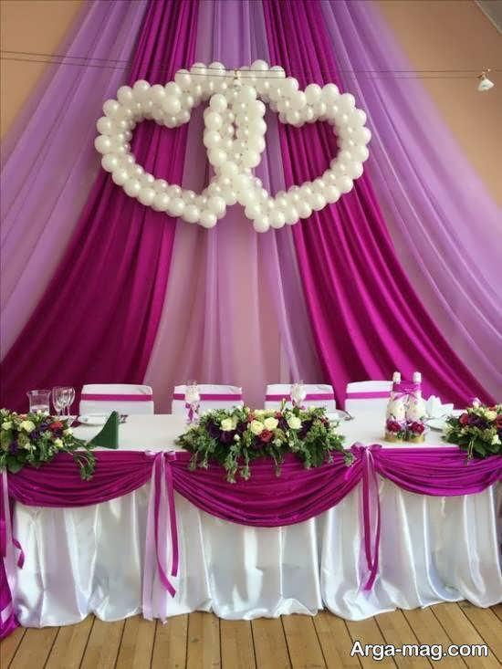 ایده های زیبایی از تزیین پشت سر عروس