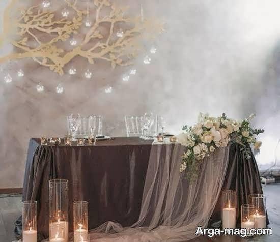 ایده های بینظیر و منحصر به فرد تزیینات پشت سر عروس