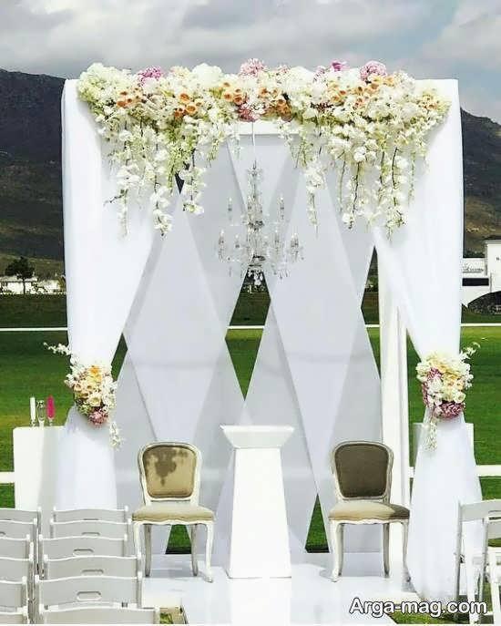 طراحی و دیزاین پشت سر عروس