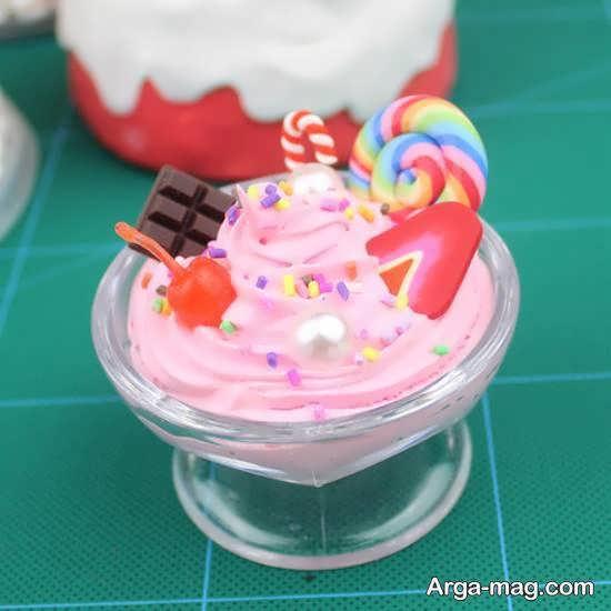 انواع نمونه های خاص و خواستنی دیزاین بستنی در جام