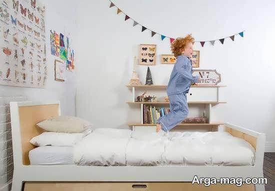 انواع نمونه های منحصر به فرد تزیین زیر تخت خواب