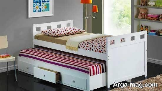 نمونه هایی تو دل برو از تزیین زیر تخت خواب