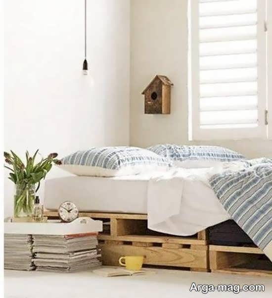 تزیین زیر تخت خواب برای استفاده بهینه از فضا