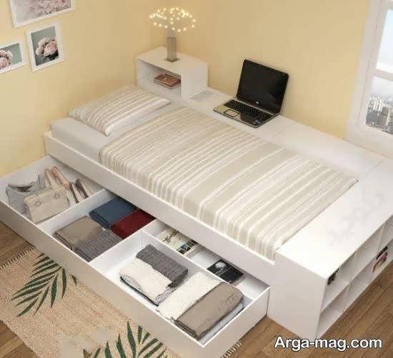 ایده هایی شیک از تزیینات زیر تخت خواب