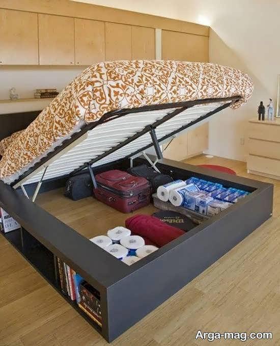 انواع نمونه های تزیین زیر تخت خواب