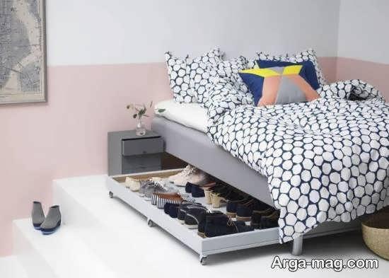 ایده هایی فوق العاده برای دیزاین زیر تخت خواب