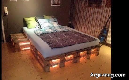 انواع نمونه های زیبای دیزاین زیر تخت خواب