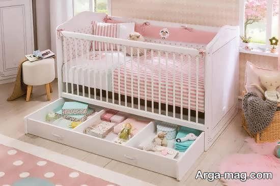 ایده های زیبای تزیین زیر تخت خواب