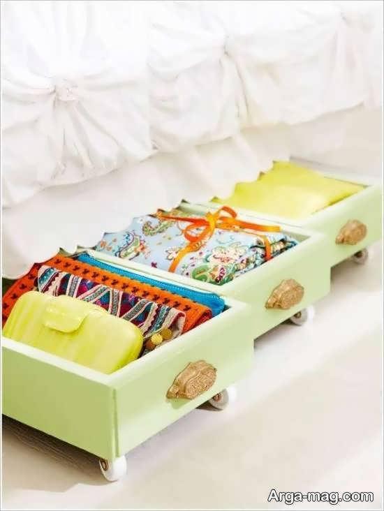 نمونه های خارق العاده و خاص تزیینات زیر تخت خواب