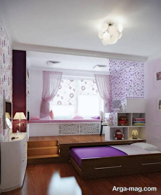 تزیینات ایده آل و خواستنی زیر تخت خواب