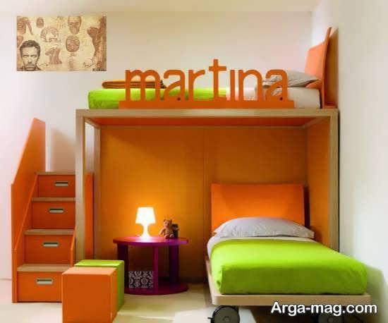 ایده های زیبای دیزاین زیر تخت خواب