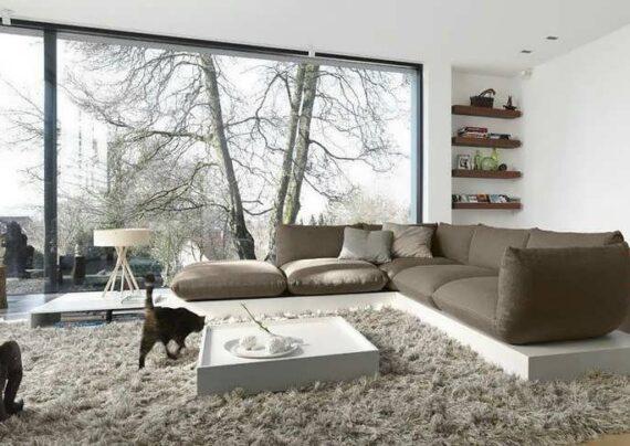 ایده هایی زیبا و متفاوت از تزیین خانه با خز