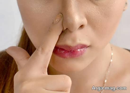 روش های خانگی از بین بردن چربی بینی