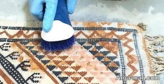 نحوه حذف بوی نامطبوع فرش