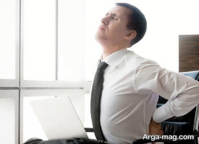 درمان درد دنبالچه با کمک ورزش