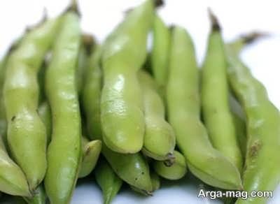 فریز کردن سبزی باقلا