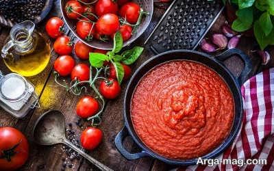 فریز کردن رب گوجه فرنگی