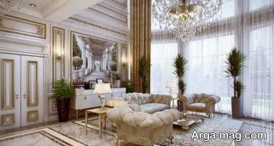 طراحی داخلی با استفاده از سبک فرانسوی