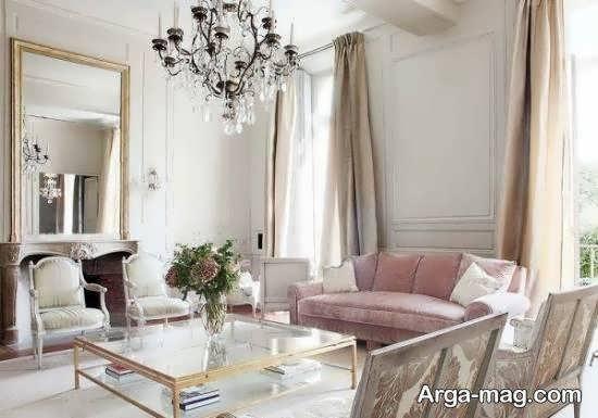 ایده هایی زیبا و متنوع از طراحی داخلی به سبک فرانسوی