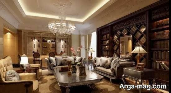 نمونه هایی متفاوت از دیزاین منزل به سبک فرانسوی