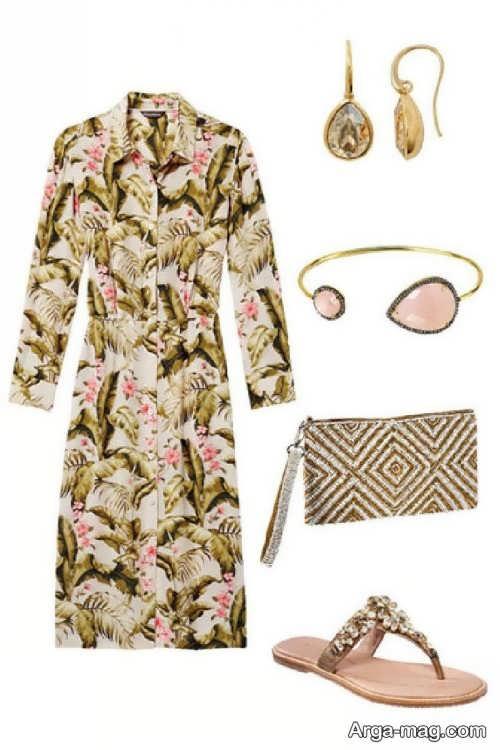 ست لباس دخترانه تابستانی طرح دار