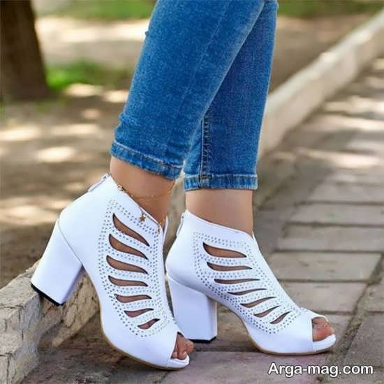 نمونه کفش مجلسی دخترانه