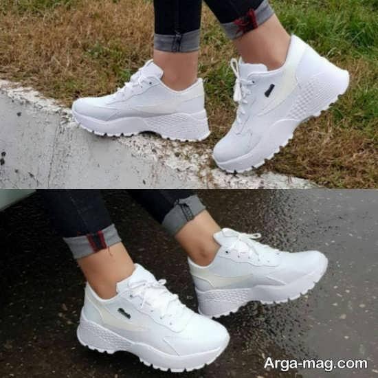 نمونه کفش های کتانی دخترانه