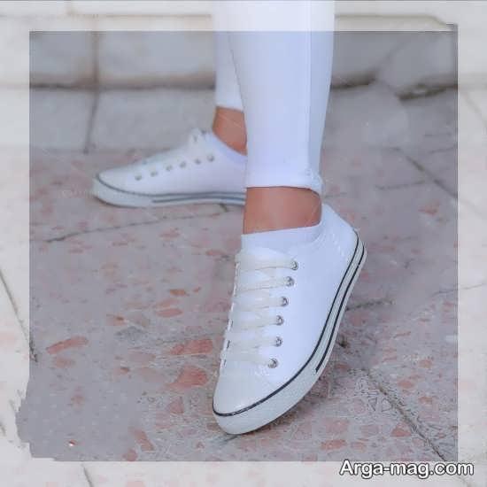 مدل کفش راحتی سفید