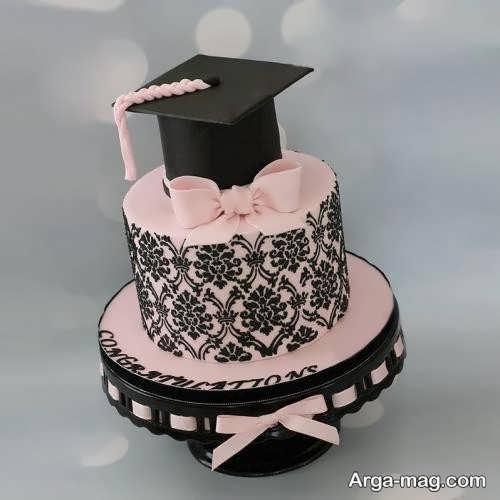 طرح های تزیین کیک فارغ التحصیلی