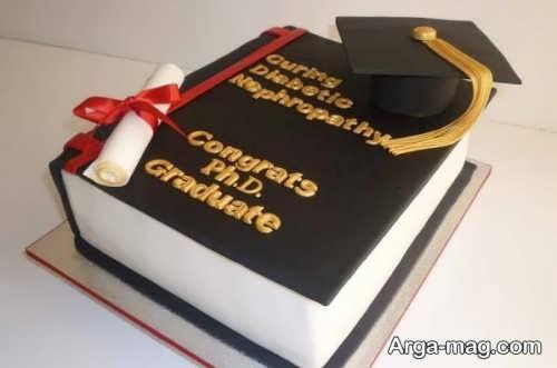 تزیینات جالب کیک برای فارغ التحصیلی