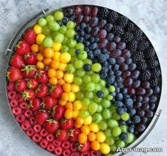 ایده هایی جذاب از تزیینات انگور