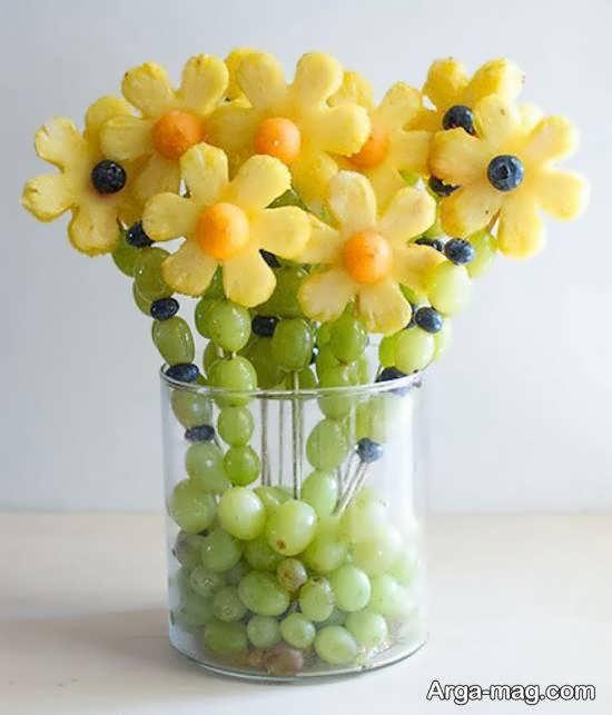 انواع نمونه های اشتهابرانگیز تزیین انگور