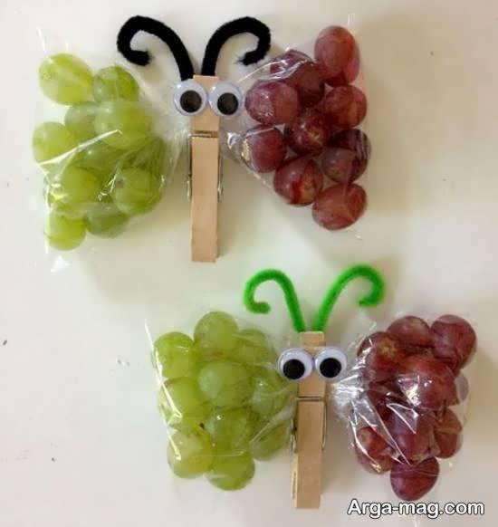 نمونه ها و طرح های زیباسازی انگور