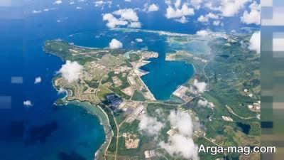 بازدید از جزیره زیبای گوام