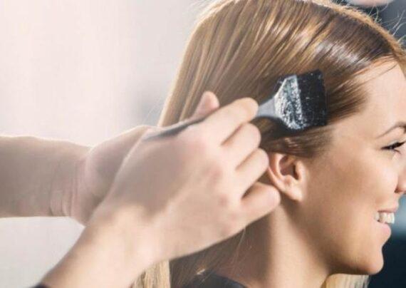 رفع رنگ مو از روی پوست