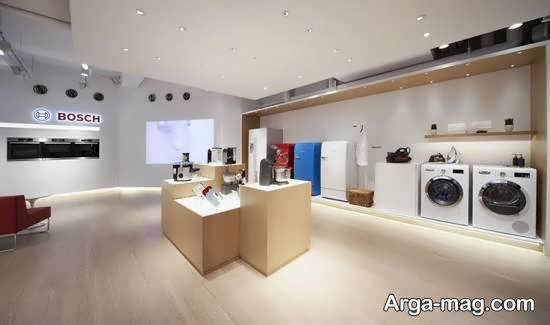 ایده هایی از دیزاین فروشگاه لوازم خانگی