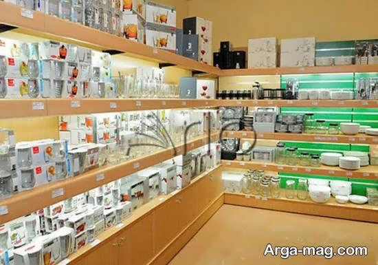 طرح های ایده آل و ناب دیزاین فروشگاه لوازم خانگی