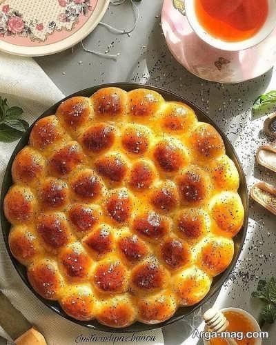 طرز تهیه نان لانه زنبوری چگونه است