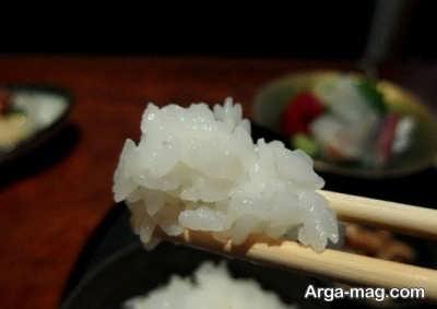طرز تهیه برنج ژاپنی به چه صورت است