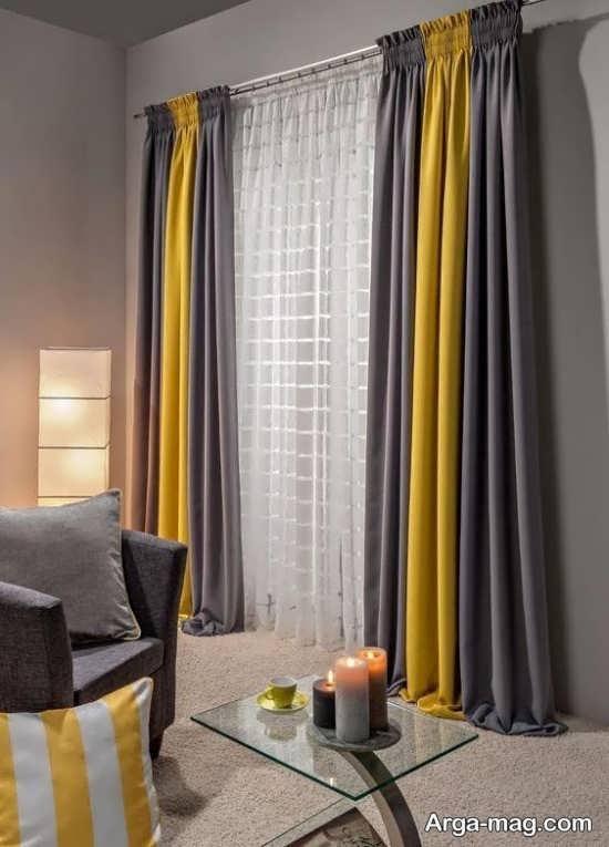 دیزاین رنگ لیمویی در اتاق خواب
