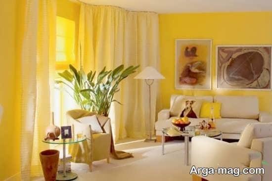 انواع جدید دیزاین رنگ لیمویی