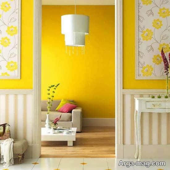 سری جدید دکوراسیون رنگ لیمویی