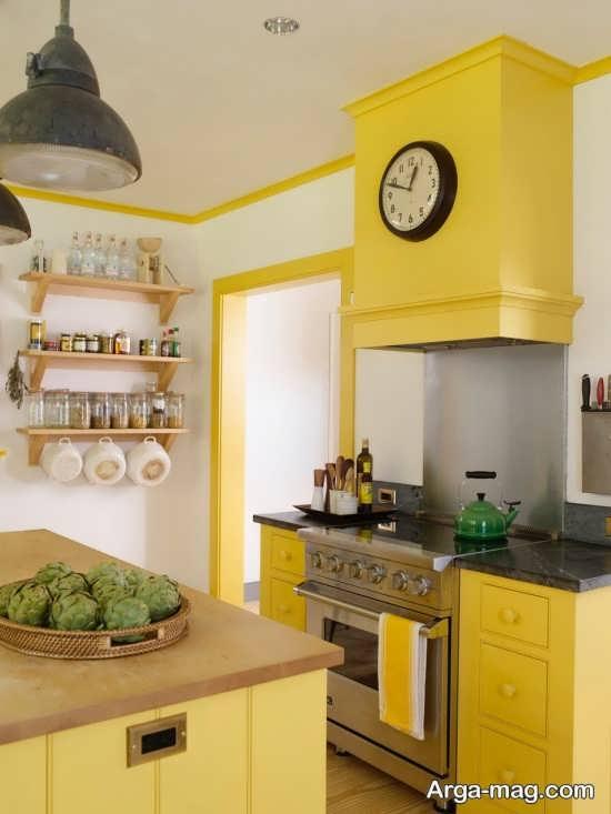 دیزاین متفاوت رنگ لیمویی