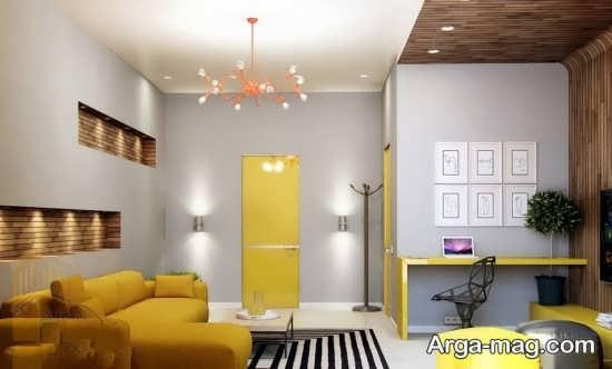 دیزاین جدید رنگ لیمویی